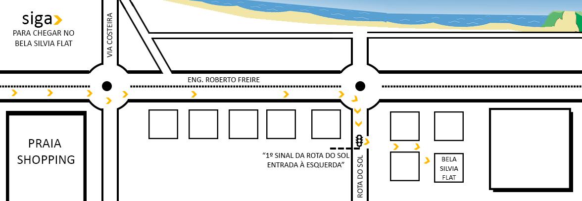 Bela Silvia Flat – Flat, Hostel, Hotel and Apart Hotel in Ponta Negra Natal Beach